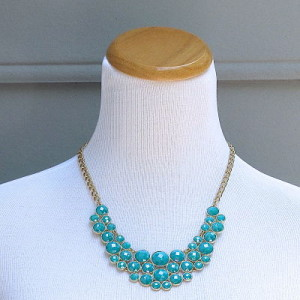 Princess Necklace in Turquoise