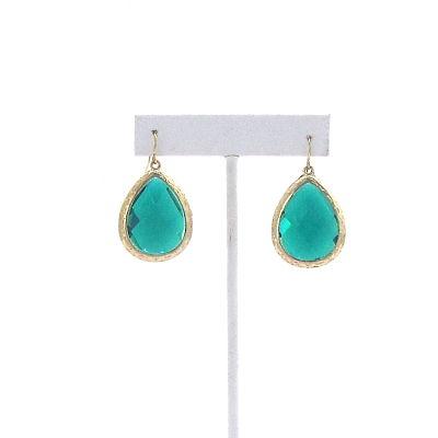 Full Swing Earrings in Green
