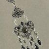 Draught of Vintage Earrings Black & Silver