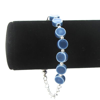 Beat of a Different Drummer Bracelet in Blue