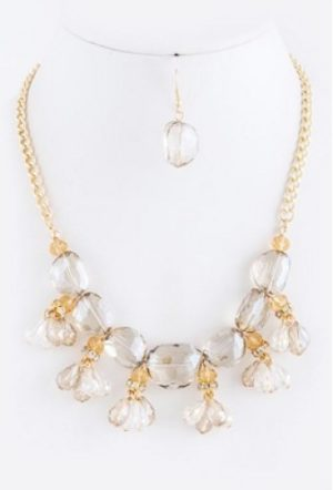 It's Crystal Clear Necklace
