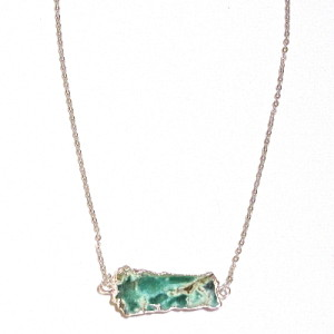 Breezing By Australian Chrysoprase Necklace