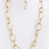 Chain of Fools Necklace in Gold