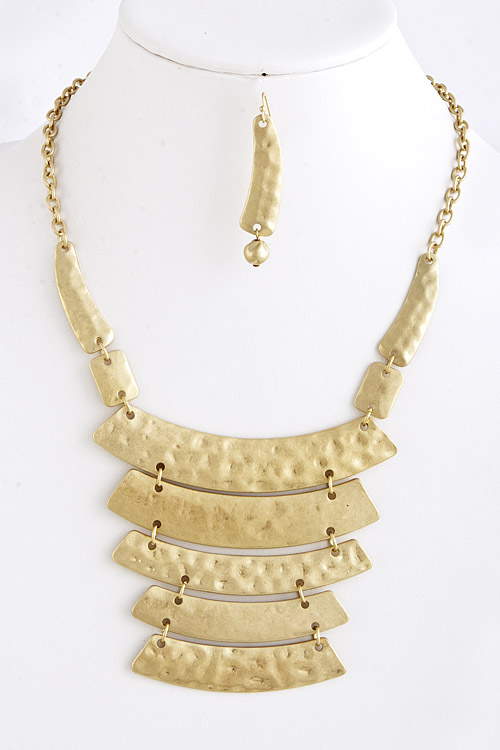 Armor Yourself Necklace in Gold