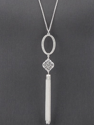Tell Me Your Secrets Tassel Necklace