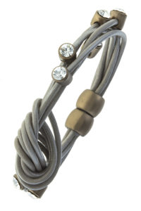 Knot Now Honey Bracelet in Gray