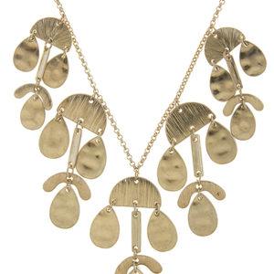 Adamaris Necklace in Gold Tone