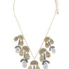 Adamaris Necklace in Gold Tone, Silver Tone, and Hematite