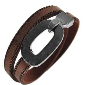 Buckle Up Bracelet in Bronze