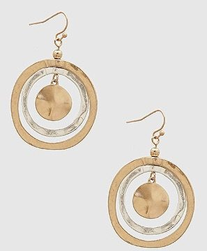 Circle Round Me Earrings