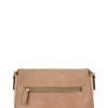 Zipper Flap Messenger Bag (back)