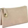 Grab & Go Messenger Bag in Stone