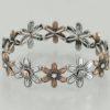 Flower Head Bracelet