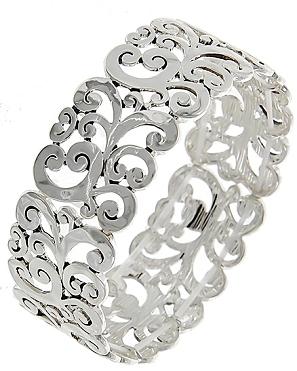 Filigree Stretch Bracelet