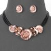 Disco Necklace in Rose Gold